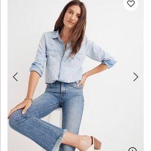 Madewell Petite Cali Demi-Boot Jeans!